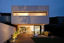 modern chalet design with concealed lighting exterior modern and