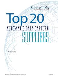 top 20 automatic data capture suppliers of 2017 modern materials