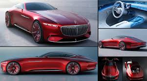 luxury mercedes maybach mercedes benz unveils super luxury coupe vision mercedes maybach