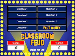 family feud powerpoint game template game ideas pinterest