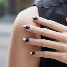 matte black nail art ideas to try now instyle com