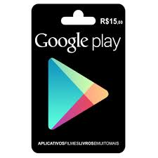 playstore gift card cartão play store gift card r 15 reais br android r 18
