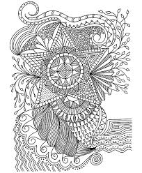 flowers stars flowers and vegetation coloring pages for adults