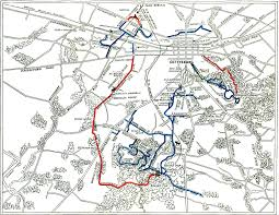 Battle Of Gettysburg Map The Battle Of Gettysburg The Country The Contestants The