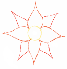basic outlines free simple flower outline download free clip art free clip art