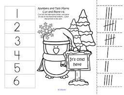 free 4 cut and paste worksheets match 10 frames to numbers 1 12