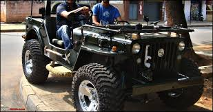 classic jeep modified pics tastefully modified cars in india page 4 team bhp