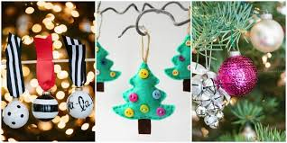 Easy Christmas Tree Decorations Christmas Tree Decoration Craft Ideas Kids U0026 Preschool Crafts