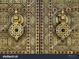 Morocco Design by Morocco Rabat Detail Typical Old Arabesque Stock Photo 136829156