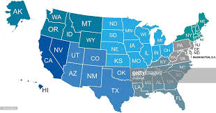 vector usa map simplified usa map vector getty images