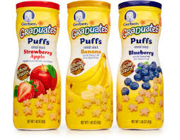 graduates snacks boxed gerber puffs cereal snack 8 x 1 48 oz variety pack