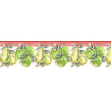 kitchen borders ideas apple wallpaper border on wallpaperget