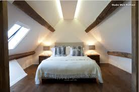 Attic Bedroom Ideas by Led Strip Indirect Lighting On Attic Conversion Lighting