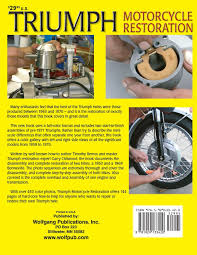 triumph motorcycle restoration timothy remus garry chitwood