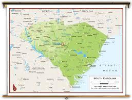 Map South Carolina Coast World Map South Carolina Afputra Com