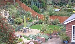 Backyard Hillside Landscaping Ideas Steep Hillside Garden Terracing Google Search Polaris Hillside