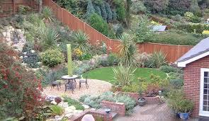 Steep Hill Backyard Ideas Sloping Front Garden Design Ideas Photo 2 Business Ideas