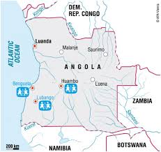 Angola Africa Map by Angola Sos Children U0027s Villages United Kingdom