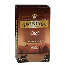 twinings chai tea bags 50 pack officeworks