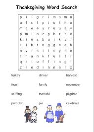 20 thanksgiving word searches baby
