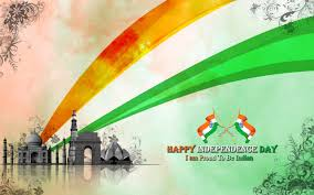 independence day flag rays taj mahal august 15th wallpaper
