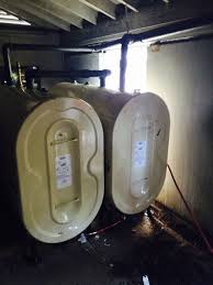 above ground 275 or 330 gallon oil tank installations in basements