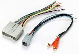 metra 70 5521 receiver wiring harness connect a new car stereo in