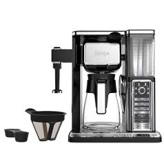 Coffee Makers With Grinders Built In Reviews Ninja Coffee Bar With Glass Carafe And Built Infrother Page 1