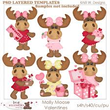 moose template moose templates clip designs commercial use products for
