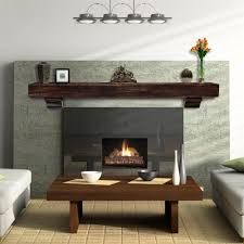 the shenandoah mantel shelf large by pearl mantels shelving com