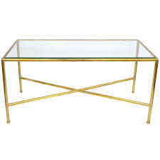 coffee table stainless steel brass glass coffee tables glass and