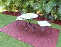 Recycled Rubber Patio Tiles by Splendid Outdoor Rubber Pavers Tiles Mats And Recycled Rubber