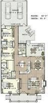 stylish plan for a narrow lot hwbdo69203 bungalow house plan