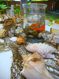 Betta Fish Decorations Seaside Soiree Birthday Celebration Betta Fish Goldfish And Betta