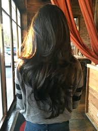 pretty v cut hairs styles best 25 long layered hair ideas on pinterest long layered