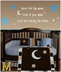 Moon And Stars Crib Bedding Moon And Stars Theme Baby Nursery Moon And Stars Nursery