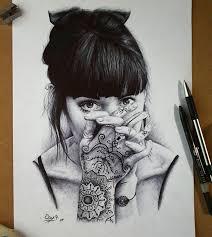 más de 25 ideas increíbles sobre dibujos con bolígrafos en
