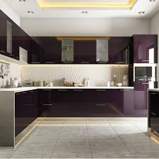 modular kitchen ideas modular kitchen styled in burgundy hues modular kitchens