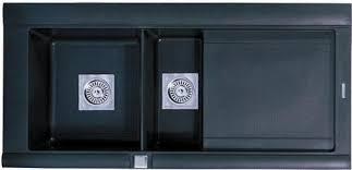 Composite Kitchen Sinks Uk Geo 1 5 Bowl Black Composite Kitchen Sink Right Handed Astracast