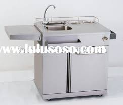 Outdoor Kitchen Sink And Cabinet  Colorviewfinderco - Mobile kitchen cabinet