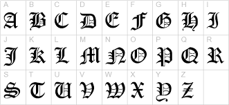 free encient german gothic font gothic calligraphy fonts free