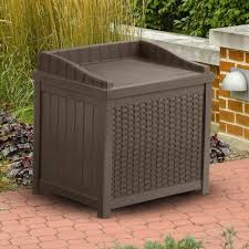 charming modern outdoor storage bench build seat patio photo on