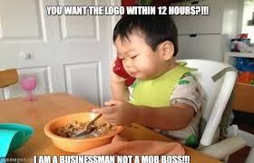Mob Baby Meme - biz not mob business baby meme on memegen