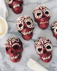 make it red velvet skull cakes u2014 shore society