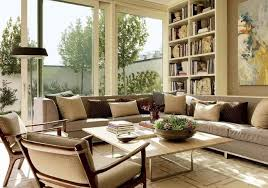 Classy Living Rooms In Neutral Colors - Adding color to neutral living room