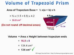 how do you find the volume of a 3d trapezoid socratic