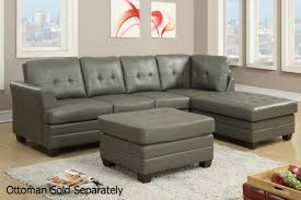 Leather Sectional Sofa Bed by Grey Leather Sectional Sofa Steal A Sofa Furniture Outlet Los