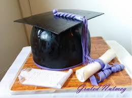 graduation cap cake topper the of a graduation cake grated nutmeg