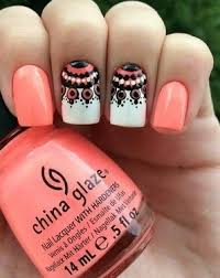 cute pink nails with intricate design pink nails nail nail and