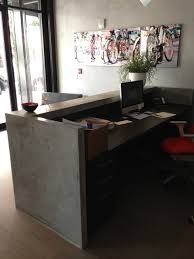Rem Suflo Reception Desk Industrial Style Reception Desk U2013 Valeria Furniture